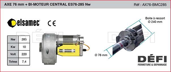 Bi-moteur central