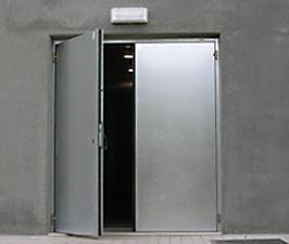 Portes industrielles d fi - Porte double battant coupe feu prix ...